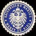 Siegelmarke Kaiserliche Marine - Werft zu Kiel W0213260.jpg