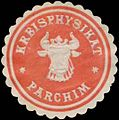 Siegelmarke Kreisphysikat Parchim W0342482.jpg