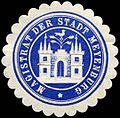 Siegelmarke Magistrat der Stadt Meyenburg W0226321.jpg