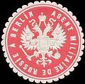 Siegelmarke Militär Agent von Russland W0329052.jpg