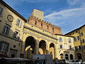 Siena, p. indipendenza, loggia, palazzo e torre ballati 02.JPG