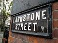 Sign, Larkstone Street, Belfast - geograph.org.uk - 764298.jpg
