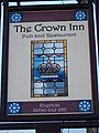 Sign for the Crown Inn - geograph.org.uk - 1634088.jpg