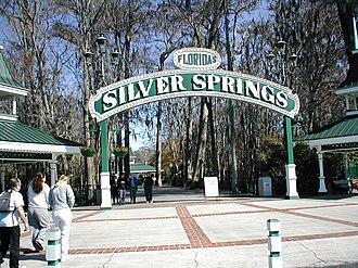 Silver Springs (attraction) - Park entrance