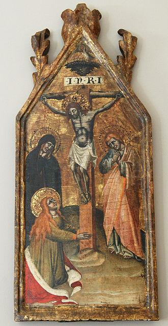 Simone dei Crocifissi - Crucifixion.