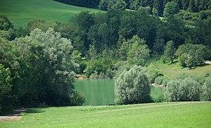 Simonsbach reservoir near Donzdorf