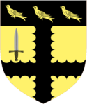 Sinclair of Cleeve Escutcheon.png