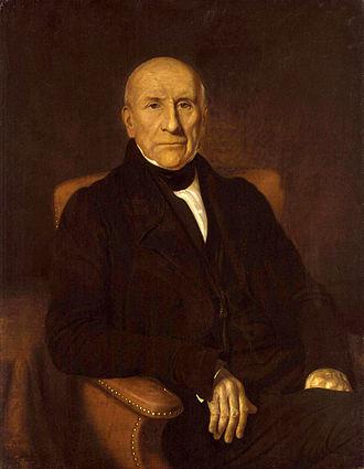 Sir John Gladstone, 1st Baronet - Portrait of Gladstone by Thomas Gladstones, circa 1830.