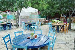Sirena bay beach tavern and lounge bar in Protaras Paralimni Republic of Cyprus
