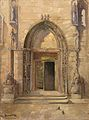 Sjeverni portal Šibenske katedrale.jpg
