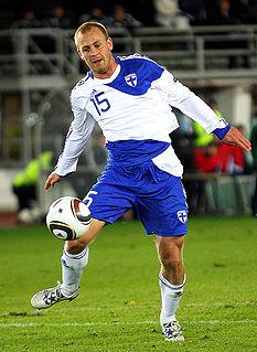 Daniel Sjölund Finnish football player