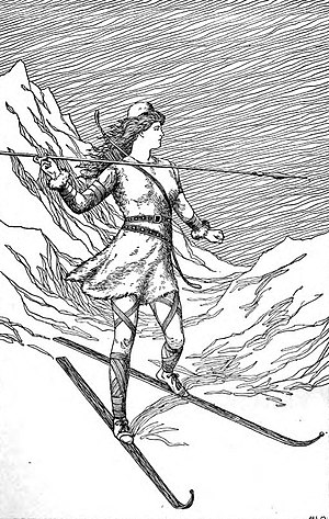 Skaði - Skadi Hunting in the Mountains (1901) by H. L. M.