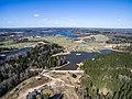 Skats no augšas uz Viežūra ezera pusi - panoramio.jpg