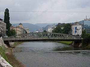 Skenderija Bridge - Skenderija bridge