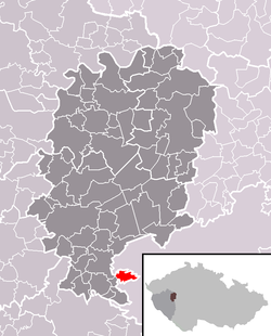 Location of Skořice