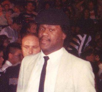 Slick (wrestling) - Image: Slick WWF Cropped