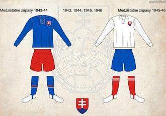 Slovakia national football team - Slovakia kits from 1939–45 era