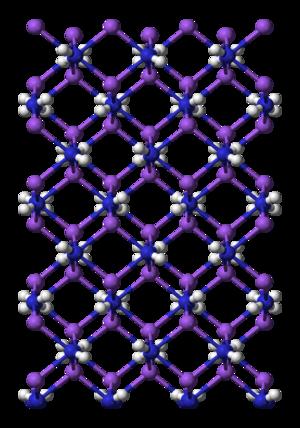 Sodium amide - Image: Sodium amide 3D balls B