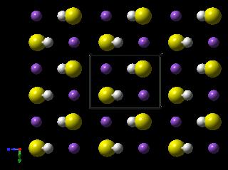 Sodium hydrosulfide chemical compound