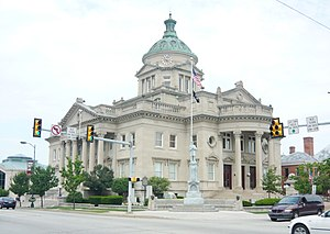 Somerset County, Pennsylvania - Image: Somerset County Courthouse Pa 2012