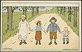 Sommermotiv med fire barn av Lisbeth Bergh.jpg