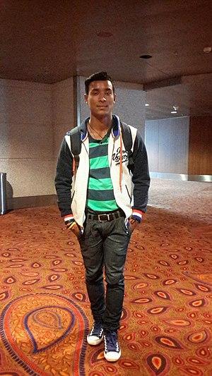 Sompal Kami - Image: Sompal Kami Cricketer