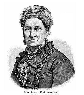 Sophia Fowler Gallaudet deaf educator and wife of Thomas Hopkins Gallaudet