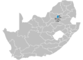 South Africa Districts showing Tshwane.png