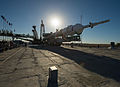 Soyuz TMA-10M spacecraft at the Baikonur Cosmodrome launch pad (1).jpg