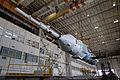 Soyuz TMA-11M in Baikonur processing facility (201311040014HQ).jpg