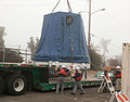 SpX-1 Dragon loaded onto truck.jpg