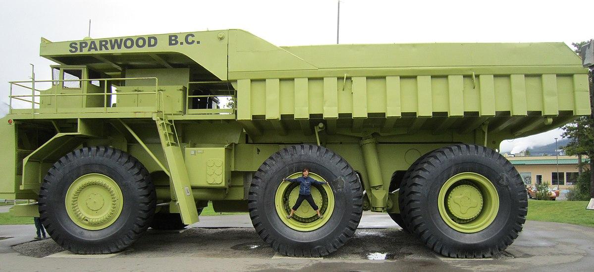 """Biggest Ford Truck >> Terex 33-19 """"Titan"""" - Wikipedia"""