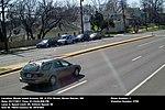 Speed camera in Mount Rainier, Maryland demonstrating speed violation, photo 1.jpg