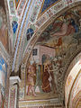 Spinello aretino, storie di s. caterina d'alessandria, arcone con martirio 02,2.JPG