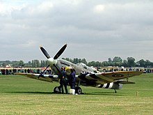 Supermarine Spitfire (late Merlin-powered variants) - Wikipedia