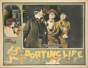The Sporting Life (1925 film) - Lobby card
