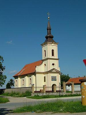 Church of the Nativity of the Virgin, Srijemske Laze - Church of the Nativity of the Virgin