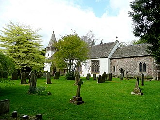 St Peter's Church, Dixton - Image: St. Peter's church, Dixton geograph.org.uk 1399915