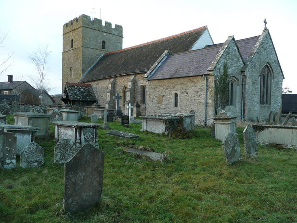 St. Swithin's church, Clunbury - geograph.org.uk - 654985.jpg