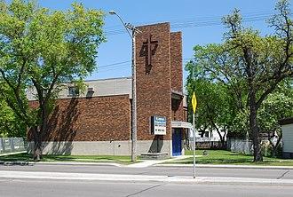 Varennes, Winnipeg - St. Andrew's Presbyterian Church in Varennes.