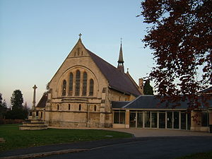 Churchdown - St Andrew's Church, in Churchdown Village in Gloucestershire