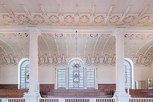 St Botolph's Aldgate - Ceiling detail