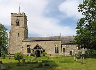 Little Hadham - Image: St Cecilia, Little Hadham, Herts geograph.org.uk 362902