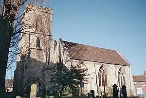 St Denys's Church, York - Image: St Denys Church York
