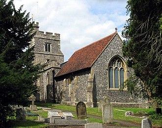 South Mimms - St Giles' Church, South Mimms