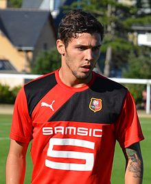 Stade rennais vs USM Alger, July 16th 2016 - Afonso Figueiredo 5.jpg
