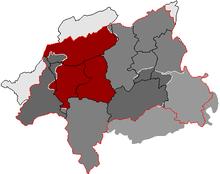 Wuppertal Karte Stadtteile.Liste Der Stadtbezirke Und Stadtteile Von Wuppertal Wikipedia