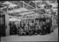 Staff officers and foremen at the Hutt Railway Workshops; group photograph ATLIB 311332.png