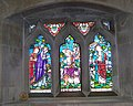 Stained glass window, St Giles Church, Great Wishford - geograph.org.uk - 957067.jpg