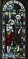 Stained glass window, St Mary's church, Westham (15977371082).jpg